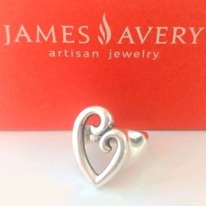 """James Avery """"Mother's Love"""" Heart 925 Ring"""
